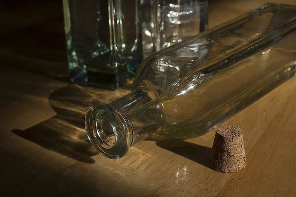 Photograph - Bottles And Cork 1002 by Steve Somerville