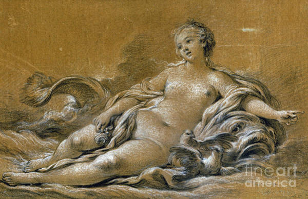 Photograph - Boucher: Venus by Granger