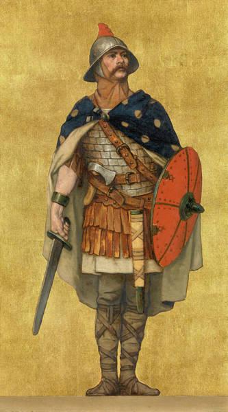 Honor Painting - Baldwin Iron Arm by Albert De Vriendt