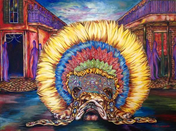 English Bulldog Painting - Boudin by Chase Kamata
