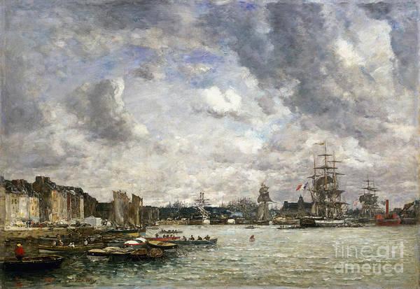 Photograph - Boudin: Port, 1869 by Granger