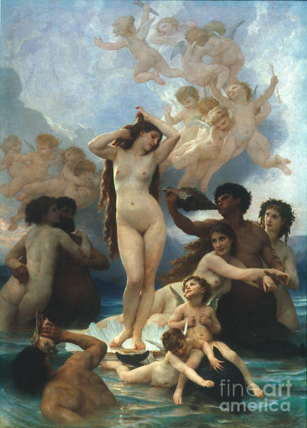 Aod Painting - Bouguereau: Birth Of Venus by Granger