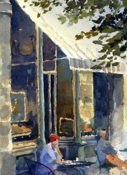 Painting - Boulangerie Du Monde, Cedarburg by James Faecke