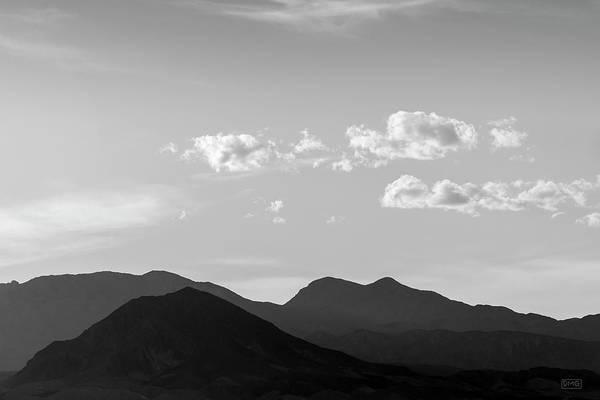 Photograph - Boulder City Nv Landscape I Bw by David Gordon