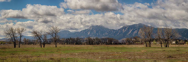 Wall Art - Photograph - Boulder Colorado Front Range Panorama View by James BO Insogna