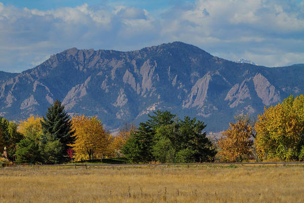 Photograph - Boulder Colorado Autumn Flatiron Afternoon by James BO Insogna