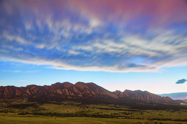 Photograph - Boulder Colorado Dreaming by James BO Insogna
