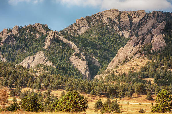 Photograph - Boulder Colorado Rocky Mountain Foothills by James BO Insogna