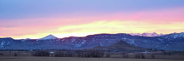 Photograph - Boulder County Haystack Mountain Panorama View by James BO Insogna