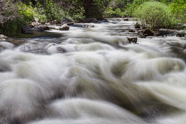 Photograph - Boulder Creek In Slow Mo by James BO Insogna