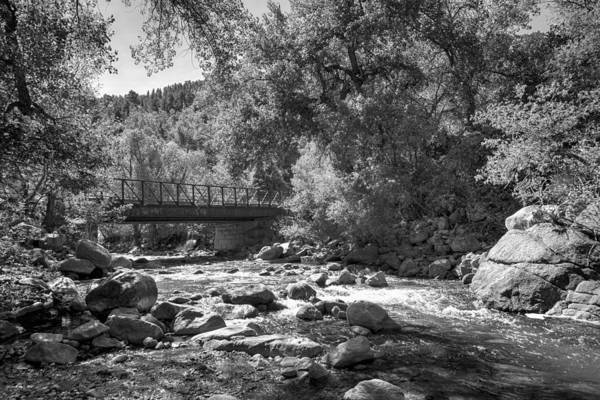 Photograph - Boulder Creek Path Bridge by Lynn Palmer