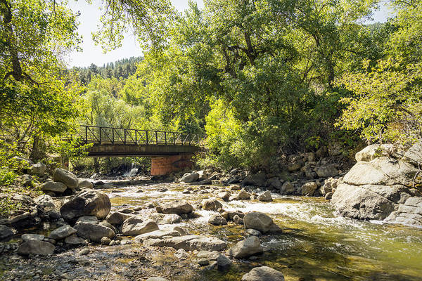 Photograph - Boulder Creek Trail Bridge by Lynn Palmer