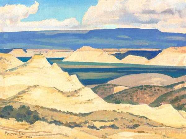 Wall Art - Painting - Boulder Valley Utah by Maynard Dixon