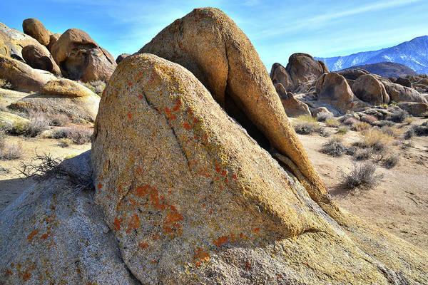 Photograph - Boulder Wave In The Alabama Hills by Ray Mathis