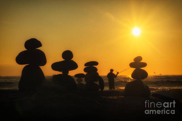 Photograph - Boulders By The Sea by Alissa Beth Photography