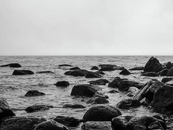 Photograph - Boulders In The Ocean by Trance Blackman