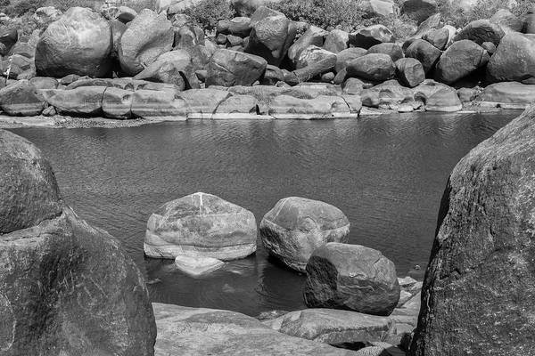 Photograph - Boulders Of Tungabhadra, Hampi, 2017 by Hitendra SINKAR