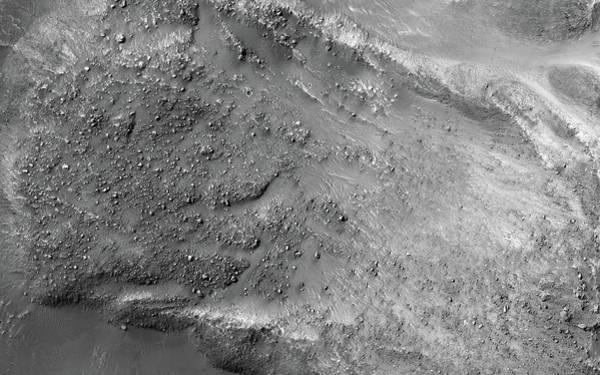 Painting - Boulders On A Martian Landslide by Artistic Panda