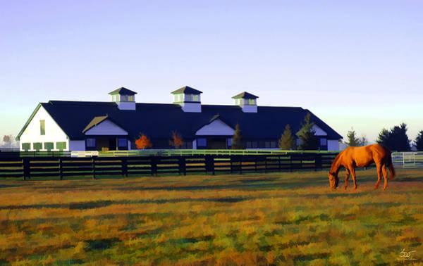 Photograph - Boulevard Barn by Sam Davis Johnson