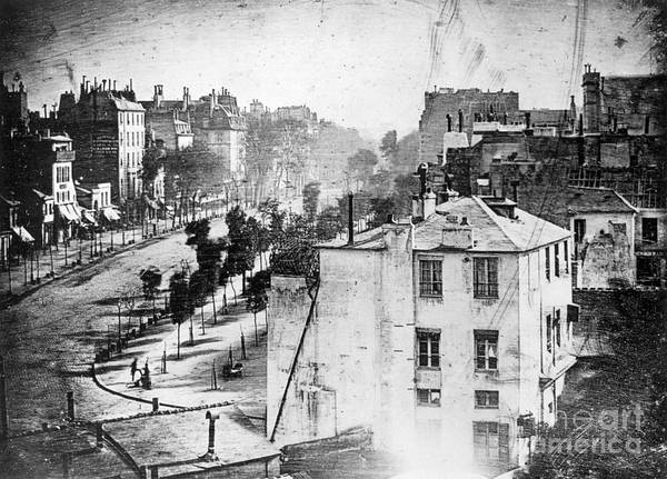 Wall Art - Photograph - Boulevard Du Temple, By Daguerre, 1838 by Science Source