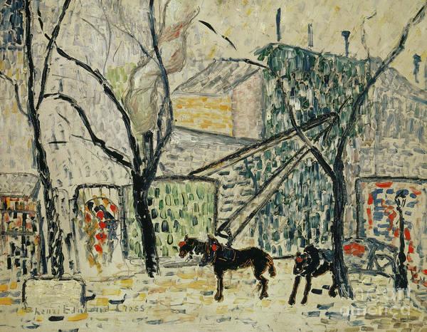 Boulevard Painting - Boulevard by Henri-Edmond Cross