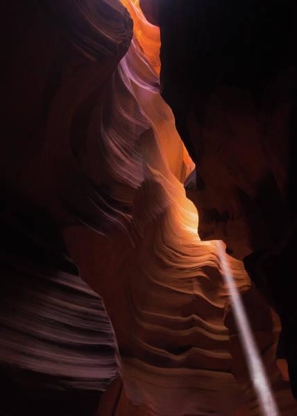 Photograph - Bouncing Light - Antelope Canyon - Arizona by Gregory Ballos