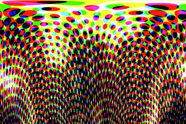 Balloon Festival Digital Art - Bouncing by Marnie Patchett