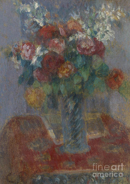 Wall Art - Painting - Bouquet Circa 1900 By Camille Pissarro by Camille Pissarro