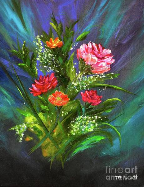 Painting - Bouquet by Mary Scott