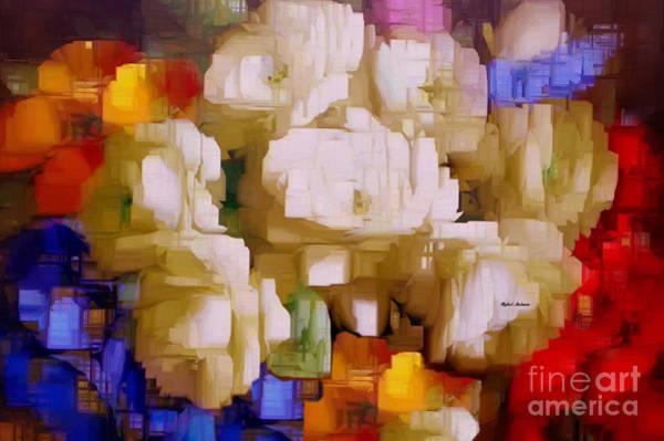 Digital Art - Bouquet Of Flowers by Rafael Salazar