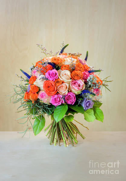 Floristry Photograph - Bouquet Of Roses For You by Viktor Birkus