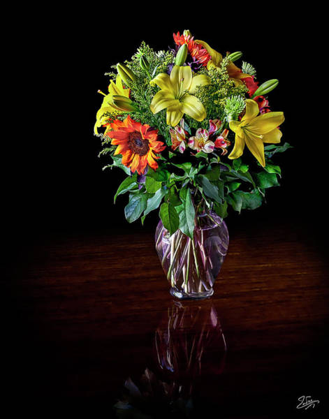 Photograph - Bouquet Of Spring Flowers by Endre Balogh