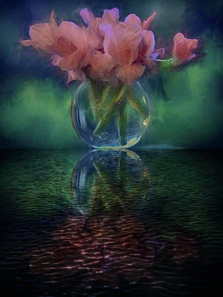 Photograph - Bouquet Reflected by Phyllis Meinke
