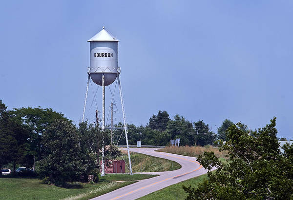 Photograph - Bourbon Mo Tower by David Coblitz