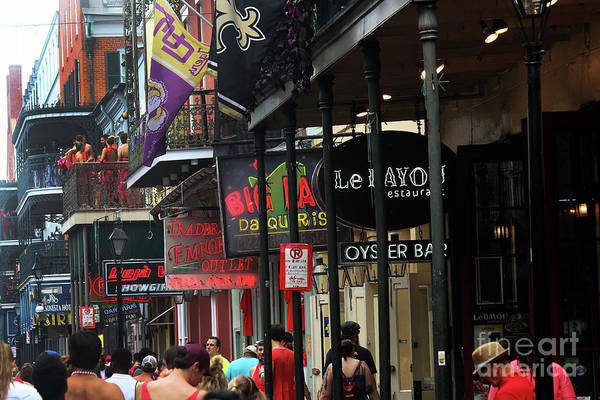 Photograph - Bourbon Street by Steven Spak