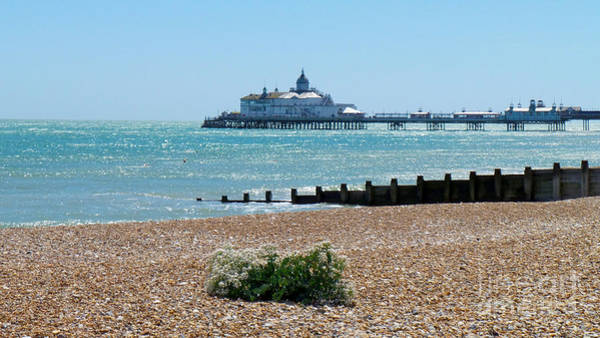 Bournemouth Seaside View Art Print