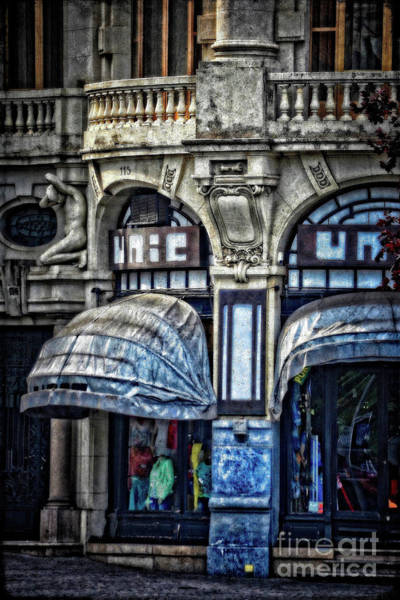 Wall Art - Photograph - Boutique - Porto by Mary Machare
