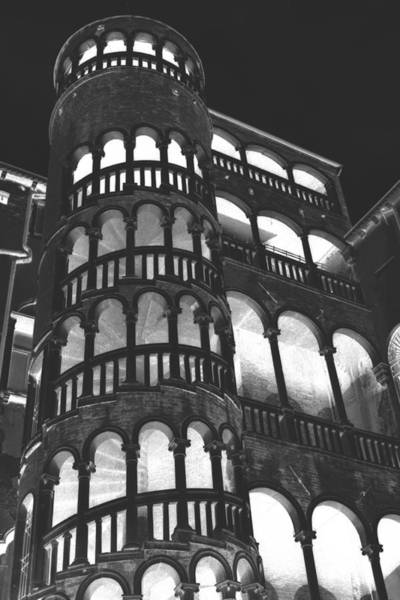 Wall Art - Photograph - Bovolo Staircase In Venice In Negative by Michael Henderson