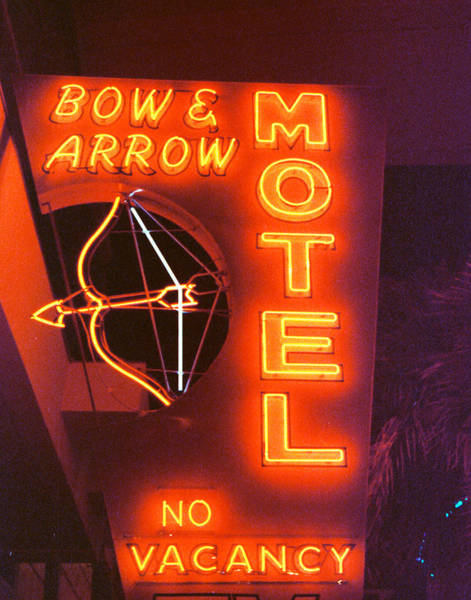 Photograph - Bow And Arrow Motel by Matthew Bamberg