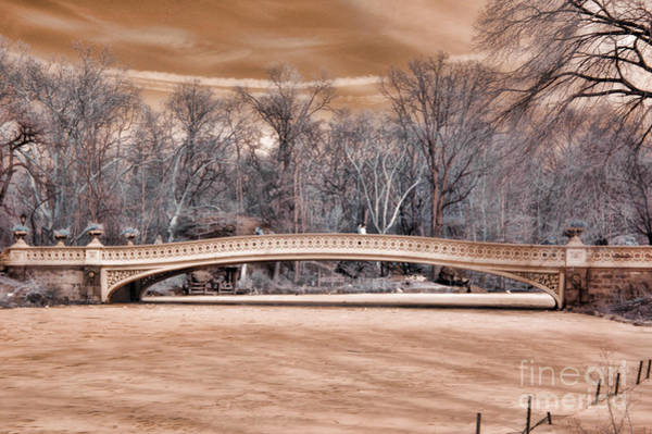 Wall Art - Photograph - Bow Bridge In Infared 1 by Paul Ward