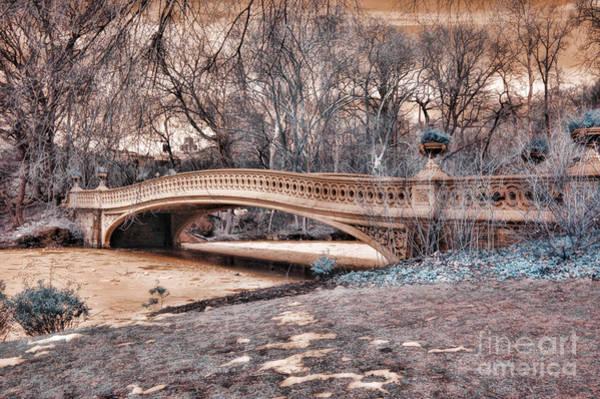 Wall Art - Photograph - Bow Bridge In Infared 2  by Paul Ward