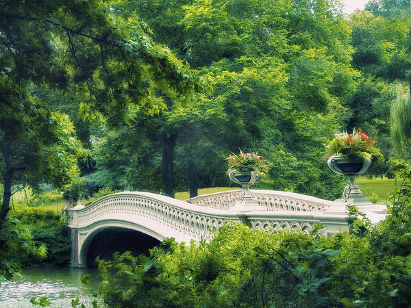 Photograph - Bow Bridge In Summer by Jessica Jenney