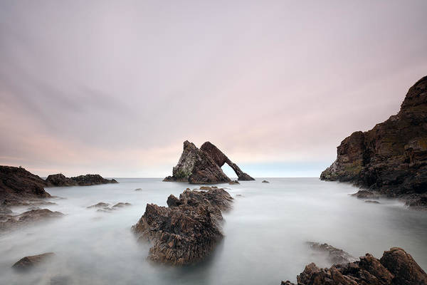 Wall Art - Photograph - Bow Fiddle - Portknockie by Grant Glendinning
