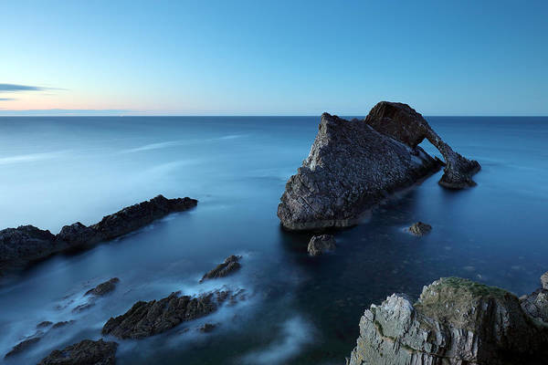 Wall Art - Photograph - Bow Fiddle Rock Sunset by Grant Glendinning