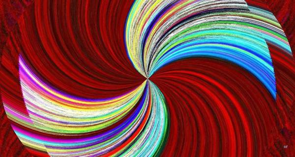 Whirl Digital Art - Bow-jangles by Will Borden