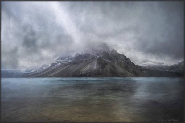 Photograph - Bow Lake by Erika Fawcett