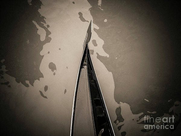 Wall Art - Photograph - Bow Of A Gondola, Venice, Italy, Europe by Bernard Jaubert