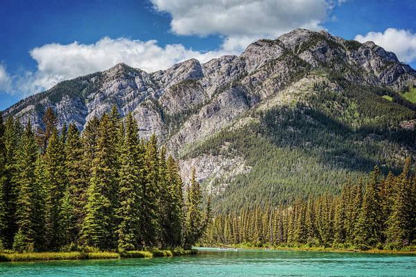 Bow River Wall Art - Photograph - Bow River Banff Alberta by Joan Carroll