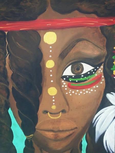 Comission Painting - Bowa by Tina B