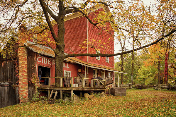 Photograph - Bowens Cider Mill by Susan Rissi Tregoning
